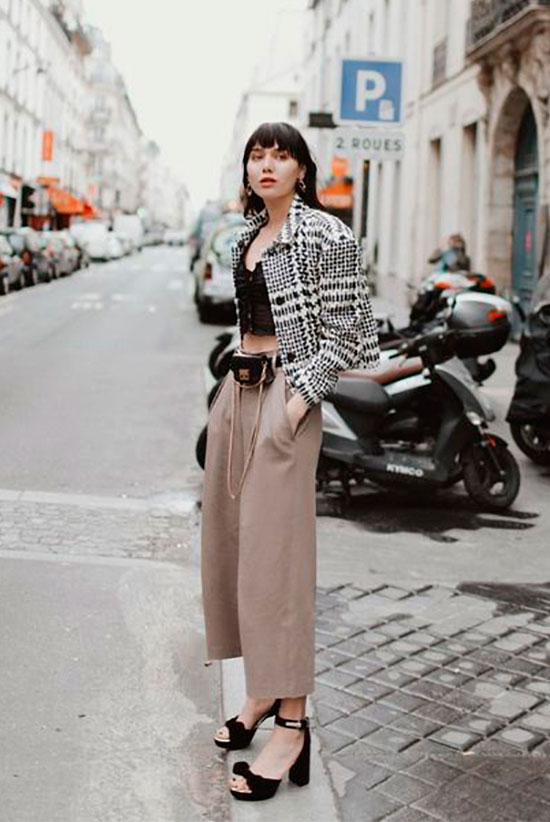 sleek ways to style the modern fanny pack  be daze live