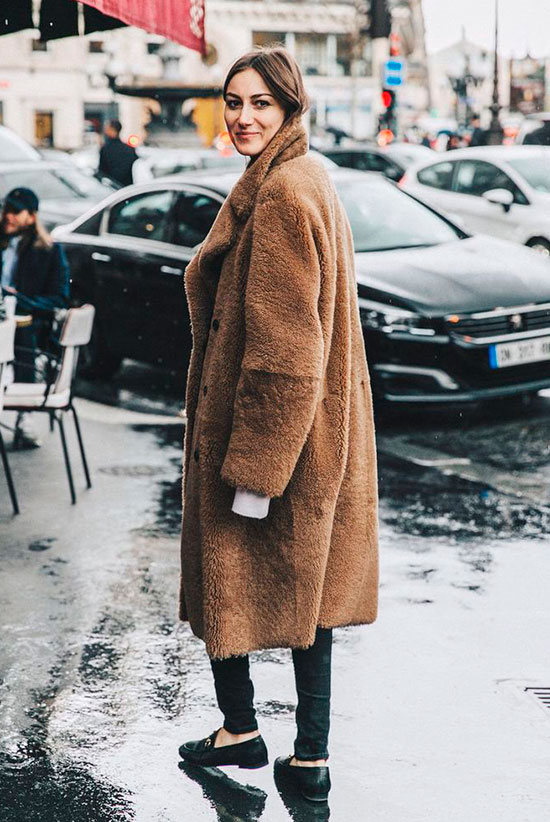 10 Chic Teddy Coat Outfits Worth Recreating Be Daze Live