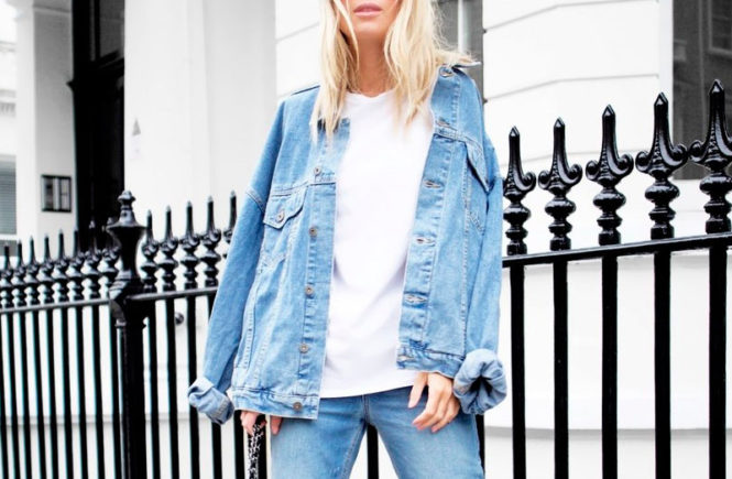 98c20624b9 5 Effortless-Chic Denim Jacket & Jeans Looks: Fashion blogger 'Victoria  Tornegren'