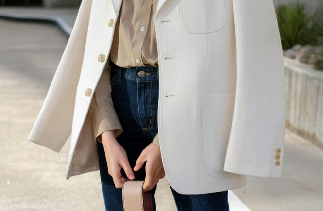 80833077c578 10 Casual Looks To Try This Blazer Season  Fashion blogger  Brittany  Bathgate  wearing