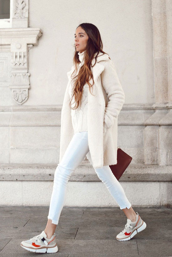 7 Ways You Can Wear White Jeans In Winter: Fashion blogger 'Stella Wants To