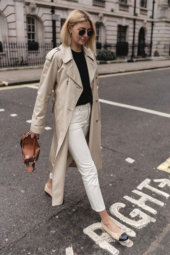 85ea1820854 15 Spring-Perfect Workwear Styles We Found On Instagram: @emmahill wearing  a beige