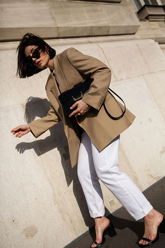 These Outfits Prove That A Beige Blazer Is A Must Have Be Daze Live